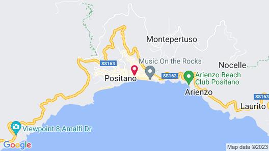 Hotel Buca di Bacco Map