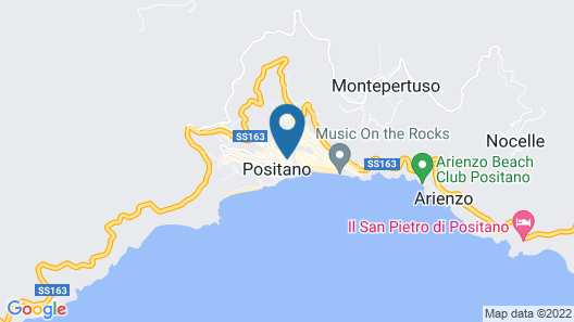 Hotel Reginella Positano Map