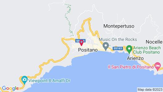 Positano Art Hotel Pasitea Map