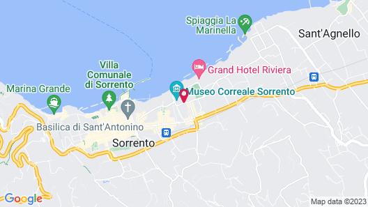 Grand Hotel De La Ville Map
