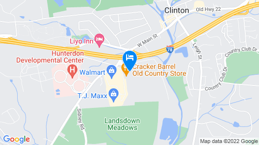 Hampton Inn Clinton Map