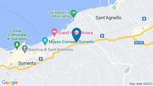 Hotel Girasole Map