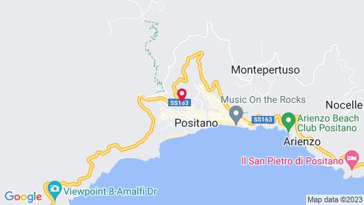 Hotel Royal Positano Map