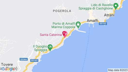 Villa Rina Map