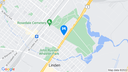 Swan Motel Map