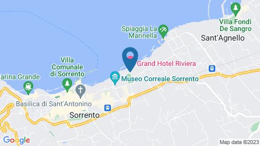 Grand Hotel Riviera Map
