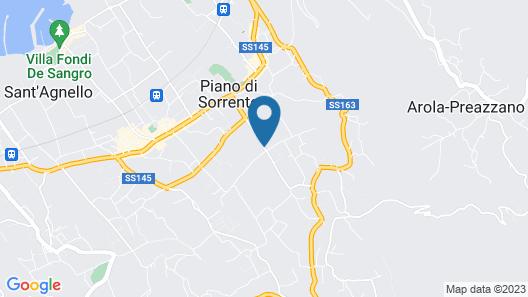Villaggio Fiori d'Arancio Map