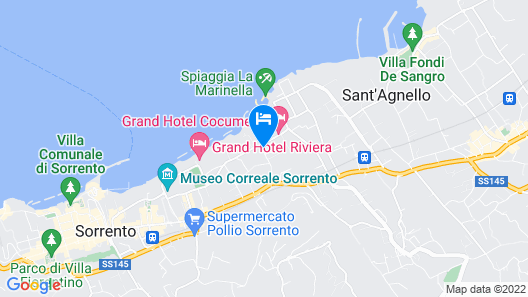 Hotel Isabella Map