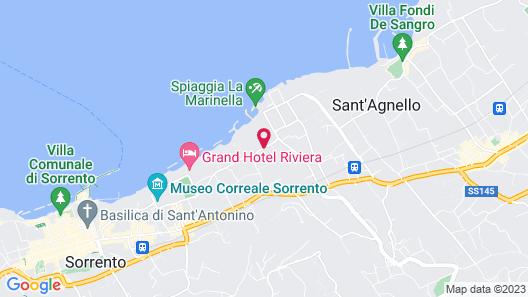 Grand Hotel Cocumella Map
