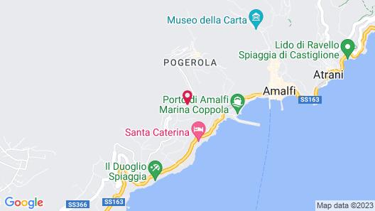 Grand Hotel Excelsior Amalfi Map