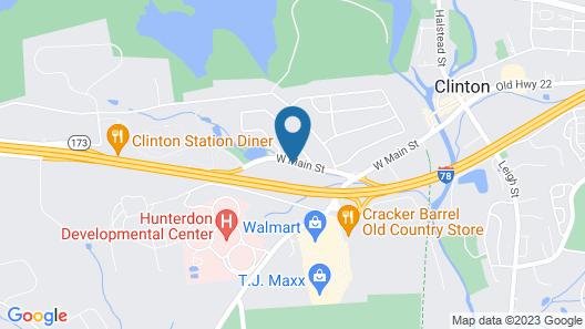 Liyo Inn Clinton Map