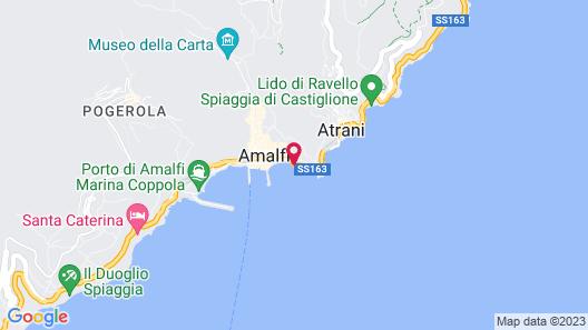 Hotel Marina Riviera Map