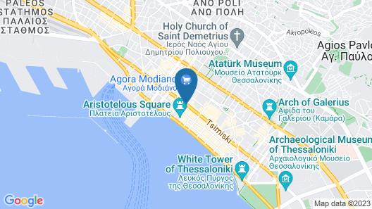 Electra Palace Thessaloniki Map