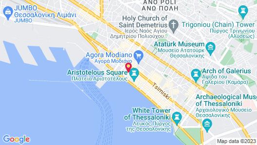 Excelsior Hotel Map