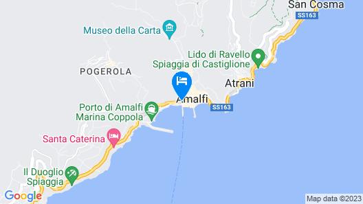 Residenza Pansa Map