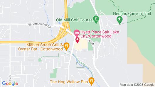 Residence Inn by Marriott Salt Lake City Cottonwood Map