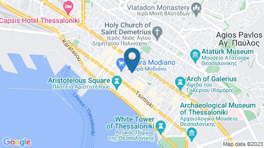 The Modernist Thessaloniki Map