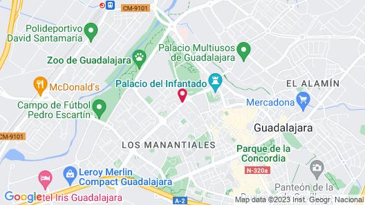 AC Hotel by Marriott Guadalajara, Spain Map