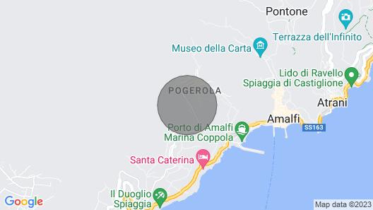 Casa Nella Roccia, Amalfi Map