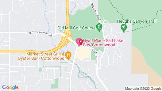 Hyatt Place Salt Lake City/Cottonwood Map