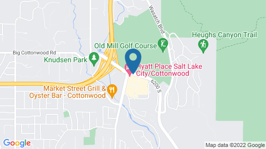 Hyatt Place Salt Lake City/Cottonwood Map