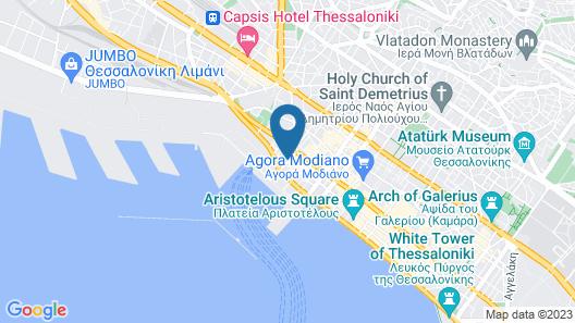 Mediterranean Palace Hotel Map