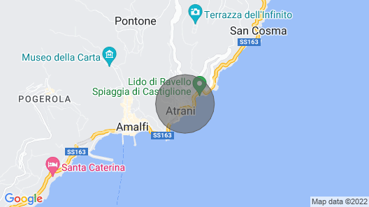 Sapore di Sale the Dream Stay on the Amalfi Coast Map