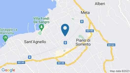 Villa Iolanda Map