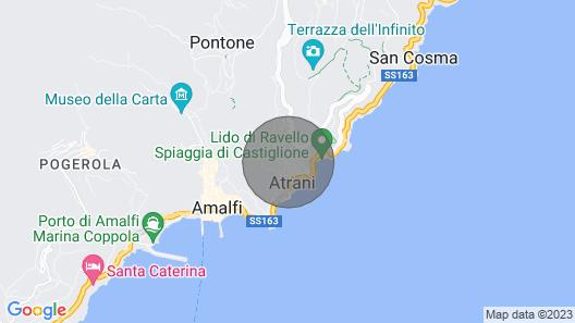 House Amendola - Amalfi Coast Map
