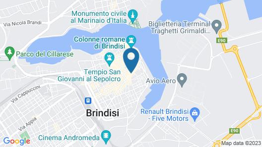 Hotel Orientale Map