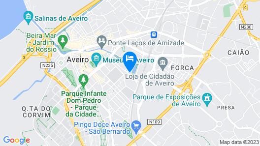 Melia Ria Hotel & Spa Map
