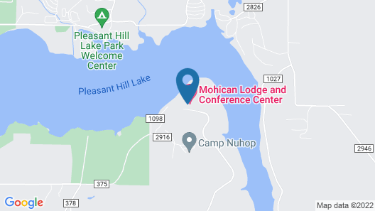 Mohican Lodge and Conference Center Map