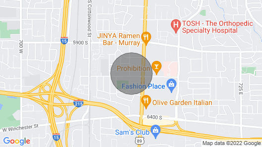 One Night Stay - Late Check-in Map