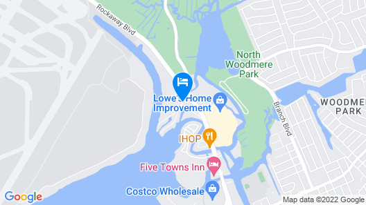 Holiday Inn New York JFK Airport Area Map