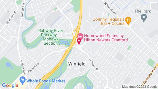 Homewood Suites by Hilton Newark Cranford Map