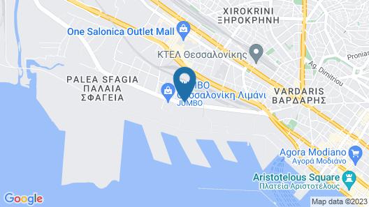 The Met Hotel Map