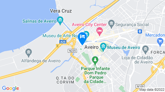 Hotel das Salinas Map