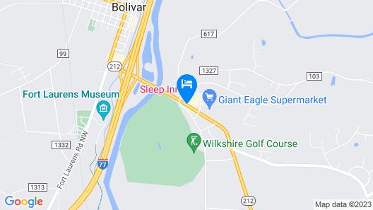 Sleep Inn Map