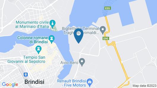 Best Western Hotel Nettuno Map