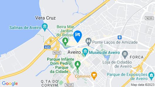 Aveiro City Lodge Map