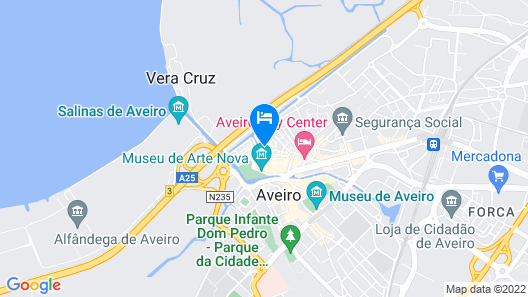 Innapartments - São Gonçalinho II Map