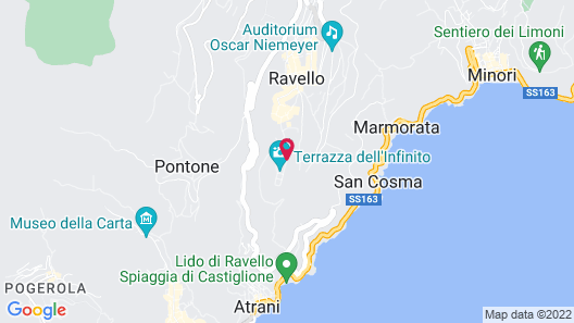 Villa Cimbrone Map