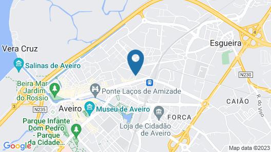 Veneza Hotel Map