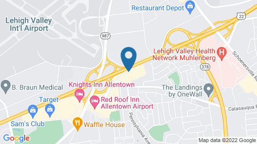 Sonesta Select Allentown Bethlehem Map