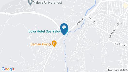 Lova Hotel SPA Map