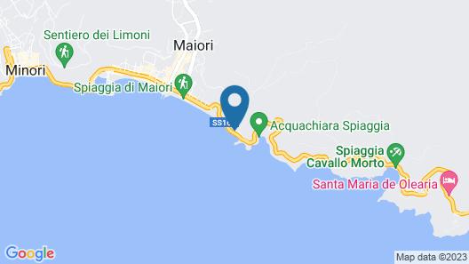 Hotel Club Due Torri Map
