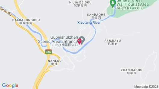 Gubei Water Town Vacation Loft Map
