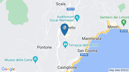 Villa Maria Hotel Map