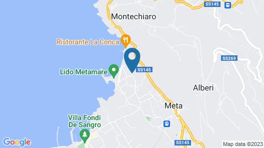 Villaggio Turistico Bleu Village Map