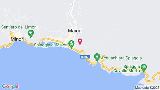 Hotel Botanico San Lazzaro Map